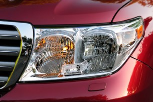 2012 Toyota Land Cruiser headlight