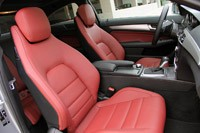 2012 Mercedes C-Class Coupe front seats