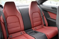 2012 Mercedes C-Class Coupe rear seats