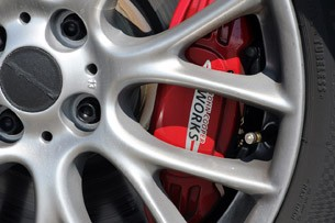 2012 Mini John Cooper Works Coupe Prototype brake caliper