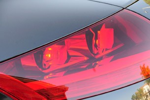 2011 Audi TT 2.0 Quattro Coupe taillights