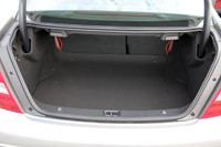 2012 Mercedes C-Class Coupe trunk