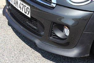 2012 Mini John Cooper Works Coupe Prototype front fascia