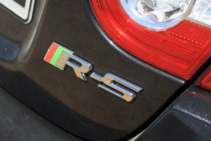 2012 Jaguar XKR-S badge