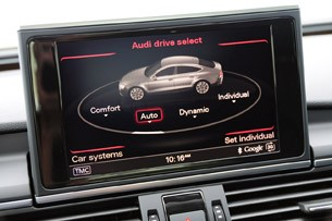 2012 Audi A7 drive select options