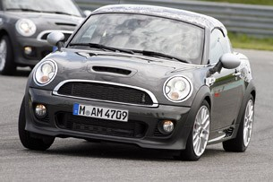 2012 Mini John Cooper Works Coupe Prototype driving