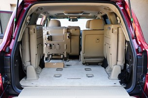 2011 Toyota Land Cruiser rear cargo area