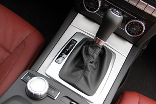 2012 Mercedes C-Class Coupe shifter
