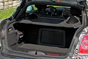 2012 Mini John Cooper Works Coupe Prototype rear cargo area