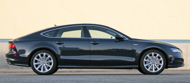 2012 Audi A7 side view
