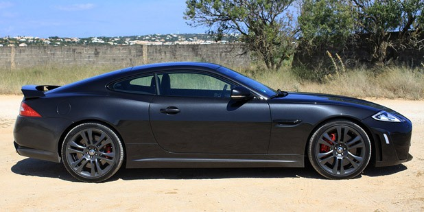 2012 Jaguar XKR-S side view