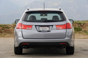 2011 Acura TSX Sport Wagon rear view
