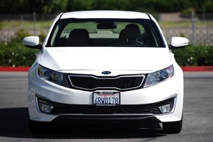2011 Kia Optima Hybrid front view