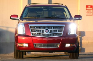 2011 Cadillac Escalade Hybrid Platinum front view