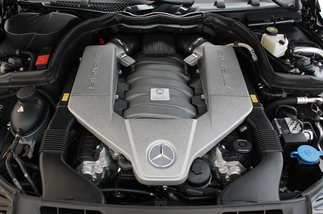 2012 Mercedes-Benz C63 AMG Coupe engine