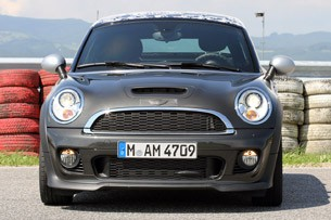 2012 Mini John Cooper Works Coupe Prototype front view