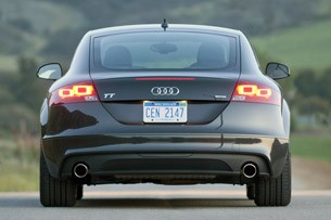 2011 Audi TT 2.0 Quattro Coupe rear view
