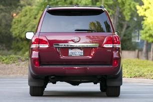 2011 Toyota Land Cruiser rear view