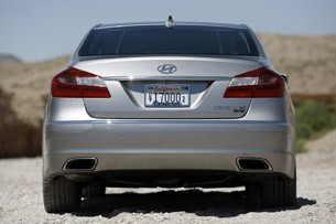 2012 Hyundai Genesis 5.0 R-Spec rear view