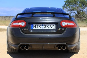 2012 Jaguar XKR-S rear view