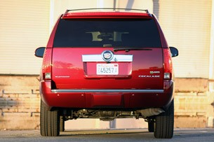 2011 Cadillac Escalade Hybrid Platinum rear view