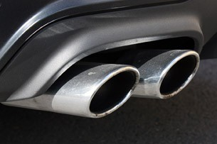 2012 Mercedes-Benz C63 AMG Coupe exhaust system