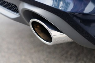 2012 Audi A7 exhaust system