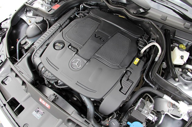 2012 Mercedes C-Class Coupe engine