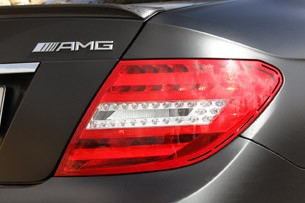 2012 Mercedes-Benz C63 AMG Coupe taillight