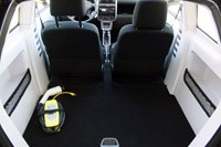 2011 Think City rear cargo area