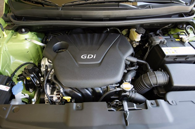 2012 Hyundai Accent Five-Door engine