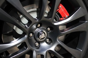 2012 Jaguar XKR-S wheel detail