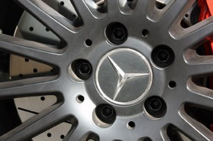 2012 Mercedes-Benz C63 AMG Coupe wheel detail