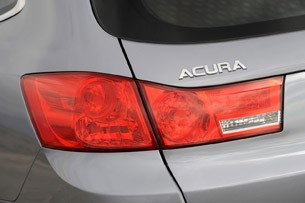 2011 Acura TSX Sport Wagon taillight