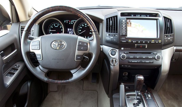 2012 Toyota Land Cruiser interior