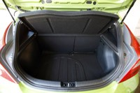 2012 Hyundai Accent Five-Door rear cargo area