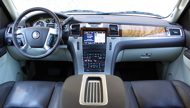2011 Cadillac Escalade Hybrid Platinum interior
