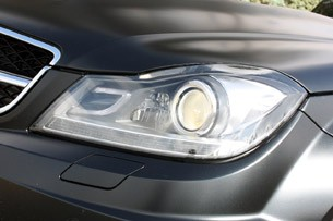 2012 Mercedes-Benz C63 AMG Coupe headlight