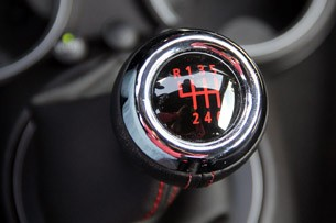 2012 Mini John Cooper Works Coupe Prototype shifter
