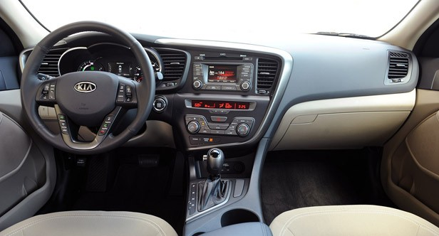 2011 Kia Optima Hybrid interior