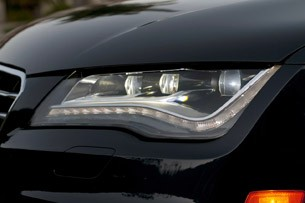 2012 Audi A7 headlight