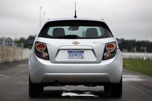 2012 Chevrolet Sonic rear view
