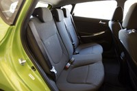 2012 Hyundai Accent Five-Door rear seats