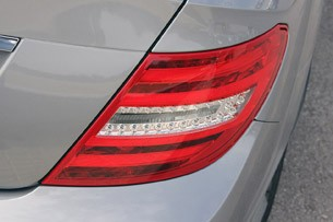 2012 Mercedes C-Class Coupe taillight