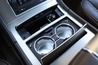 2011 Cadillac Escalade Hybrid Platinum cup holders