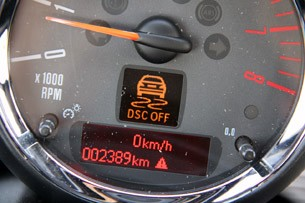 2012 Mini John Cooper Works Coupe Prototype tachometer