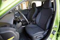 2012 Hyundai Accent Five-Door front seats