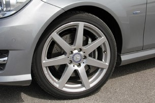 2012 Mercedes C-Class Coupe wheel