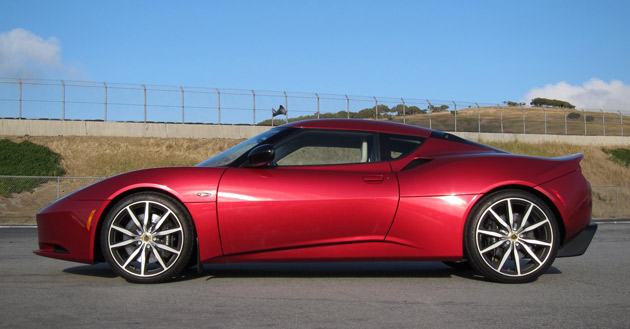 2011 Lotus Evora S side profile