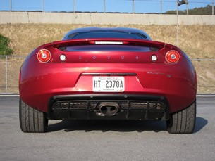 2011 Lotus Evora S rear